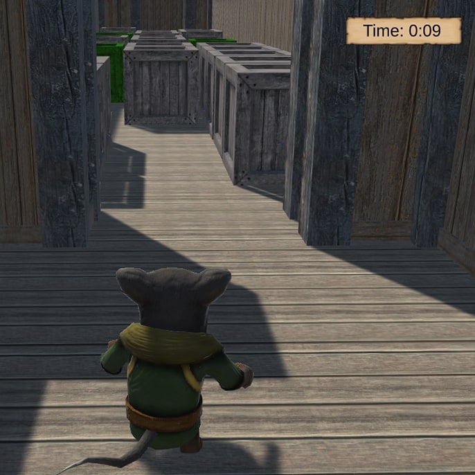 Mouse Adventure game